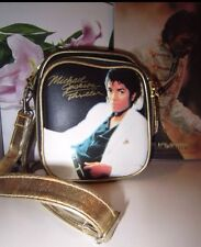MICHAEL JACKSON LUXUS TASCHE BAG LIMITIERT Schwarz Gold Thriller Album RAR Rare