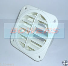 EBERSPACHER/WEBASTO ROTATABLE WHITE AIR OUTLET VENT 60MM DUCTING 221000011100