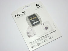 PNY 8G SDHC SD card for canon PowerShot S95 100 300 500 HS A1200 HD camera
