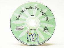 It's My Diary Digital Scrapbook - Windows 8 / 7 / Vista / XP / 95/98 Computer PC