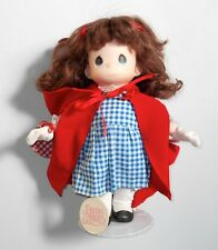 """1997 Precious Moments 12"""" Little Red Riding Hood 1st Ed. Nursery Rhymes Doll"""