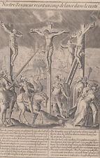 Michael Natalis (1610-1668) Storia della vita di Gesù acquaforte