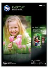 HP Everyday Photo Paper (Gloss) 200gsm A4 (1 x Pack of 100 Sheets)