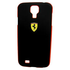 Ferrari Genuine Licensed Galaxy SIV / S4 Cell Phone HardCase - Black Scuderia