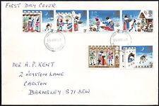 FDC - G.B. 1973 Stamps - First Day Cover