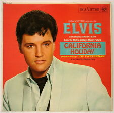 LP ELVIS PRESLEY California Holiday UK Red Spot 1st Press 1966 Mono EXCELLENT