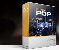 XLN Audio Studio Pop ADpak Drum Kit Sample EXPANSION for Addictive Drums 2