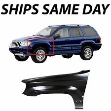 NEW Primered - Drivers Front LH Left Fender For 1999-2004 Jeep Grand Cherokee