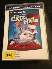 THE CAT IN THE HAT  R4 DVD FREE POST Mike Myers