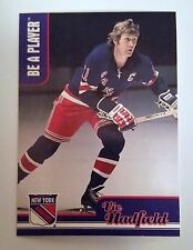 99-00 BAP In the Game Vic Hadfield #AH-7 Be A Player Memorabilia NY Rangers
