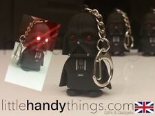 Red Light LED Darth Vader Star Wars Boys Key Ring/Chain Gift Toy