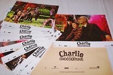 tim burton CHARLIE ET LA CHOCOLATERIE ! j depp   jeu photos cinema lobby cards