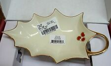 Lenox Holly Leaf Candy Dish New in the Box