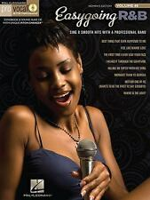 Easygoing R&B, Pro Vocal Songbook & CD, Women's Edition, Vol. 48