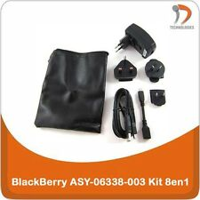 BlackBerry ASY-06338-003 chargeur charger oplader KIt 8in1 Pearl Curve Storm