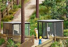 Busch Wildlife Park Small Animal Cage 1582 HO Scale (suit OO also)