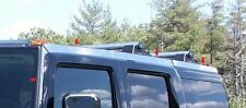 FITS HUMMER H2 2003-2009 STAINLESS STEEL CHROME ROOF RACK TRIM INSERTS 8PCS