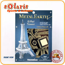 Fascinations Metal Earth Eiffel Tower Miniature 3D Architecture Steel Model