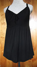 Midnight Grace by Figleaves Size 10 Padded Support Cross Back Camisole Top Black