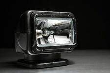 NEW - GOLIGHT®  RADIORAY® HALOGEN Model 7951(black)with Wireless Handheld Remote