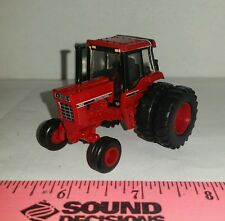 1/64 custom ERTL farm toys international ih 1086 red cab version tractor duals!