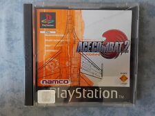 ACE COMBAT 2 SONY PLAYSTATION ONE PSX PS1 PS2 PS3 PAL EUR ITALIANO PRIMA STAMPA