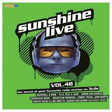 CD Sunshine live vol.48 von Various Artists (2013) 3 CD´S 24 Songs + Mix