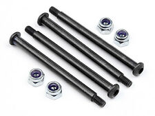 HPI RACING SAVAGE XS FLUX 106712 E-CLIP ELIMINATOR SUSPENSION SHAFT SET
