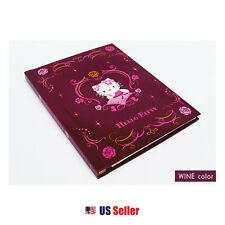 Hello Kitty Self-Adhesive Photo Album : Wine Color