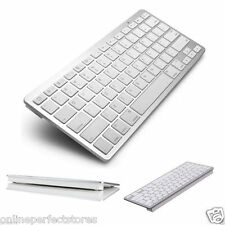 Bluetooth 3.0 Wireless Keyboard Apple iPad- & All Android Mobile Connect to Easy