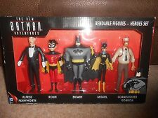 THE NEW BATMAN ADVENTURES BENDABLE FIGURES HEROES SET
