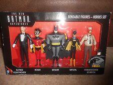 THE NEW BATMAN ADVENTURES BENDABLE FIGURES HEROES SET