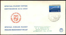 Netherlands 1966 Air, Special Flights FDC First Day Cover #C36165