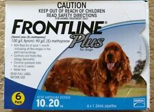 Frontline Plus For Medium Dogs 23-44lbs 6 Months Merial New In Box (BLUE)