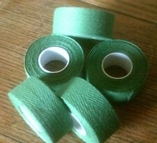 NOS 2 ROLLS GREEN TRESSOSTAR CLOTH HANDLE BAR TAPE