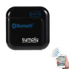 NFC Wireless Bluetooth Stereo Music Audio Receiver 3.5mm Adapter USB For Speaker