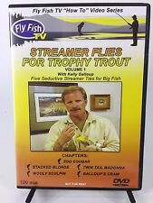 Streamer Flies for Trophy Trout Vol 1 DVD Kelly Galloup Fish Fly Fishing 2004