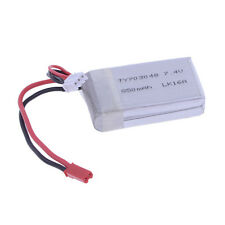 7.4V 850mAh Li-poly Li-po Battery for 2.4G 4CH RC Helicopter Quadcopter Airplane