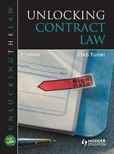 Unlocking Contract Law by Chris Turner (Paperback, 2010)