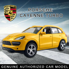 1:38 Porsche Cayenne Turbo DieCast Model Car Kids Child Pull Back Friction Toy
