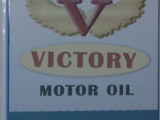 "OIL CAN - Patriotic Victory Thermometer Sign -BIG27"" -Limited Edition -FEW MADE"