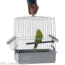 Budgie cockatiel CARRY TRAVEL Cage CRATE PET Uccello Pappagallo