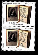 ITALIA REP. - 2003 - Bernardino Ramazzini 0,41€ de morbis artificum diatriba 2 v