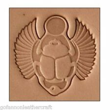 Craftool 3-d in pelle timbro SCARAB (8683-00)