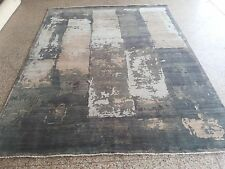 Artisan Modern Hand Knotted Abstract Area Rug In Contemporary 8'x10' Fine New