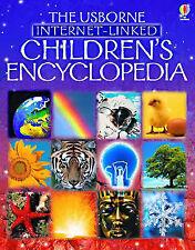 The Usborne Internet-linked Children's Encyclopedia (Reduced Size Edition),GOOD