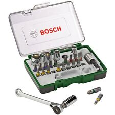BOSCH Estuche mini carraca atornillado llaves vaso, torx, allen  2607017160