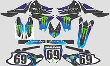 2012-2015 Yamaha WRF450 WRF 450 WR450f Graphics Decal  shrouds stickers