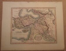 JOHN CARY MAP OF TURKEY IN ASIA 1813 FROM HIS New Elementary Atlas