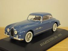 ATLAS EDITIONS BUGATTI TYPE 101 1951 BLUE CAR MODEL 1:43 GE05